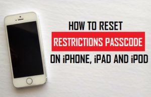 How To Reset iPhone Passcode