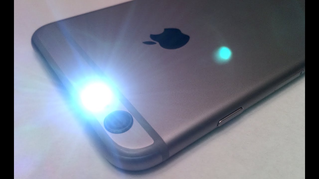 change iPhone LED lights