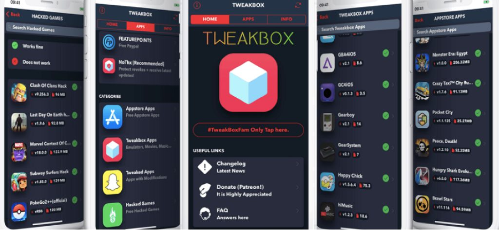 Tweakbox for iOS