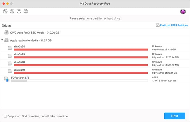 m3 data recovery tool