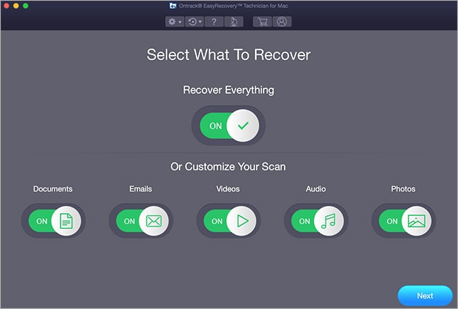 ontrack easy recovery